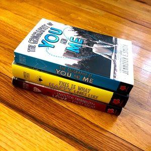 ❤️ 3 Jennifer E. Smith romance books!